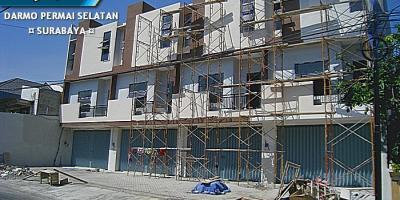 Darmo Permai Selatan, Surabaya - Under Construction Ruko 3 Lantai