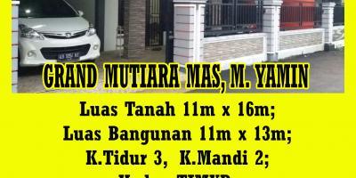 Rumah Grand Mutiara Mas, M. Yamin, Pontianak, Kalimantan Barat