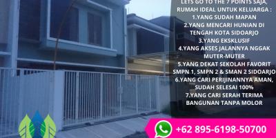 Harga Perumahan Daerah Sidoarjo Kota, WA 0895 - 6198 - 50700