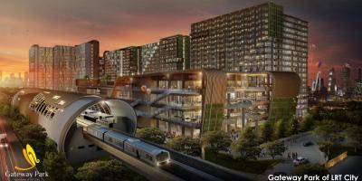 Apartemen LRT City GATEWAY PARK lokasi strategis di Jakarta Timur berkonsep Urban Resort