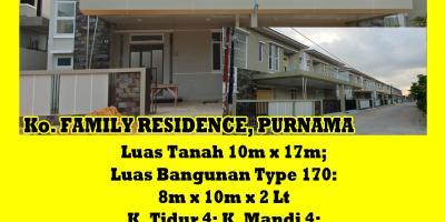 Rumah Family Residence, Purnama, Pontianak, Kalimantan Barat