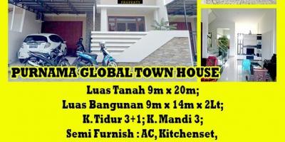 Rumah Purnama Global Town House, Pontianak, Kalimantan Barat
