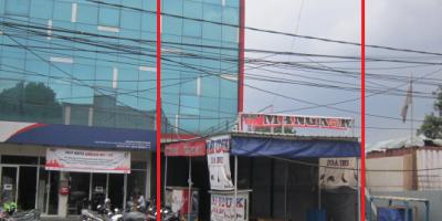 Jual Ruko 3,5 Lantai di Bekasi Jl Raya Pekayon