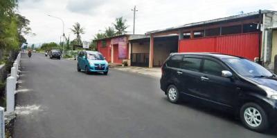 Jual Rumah di Pinggir Jalan Raya Borobudur Km 3 Magelang Deket Pintu Tol