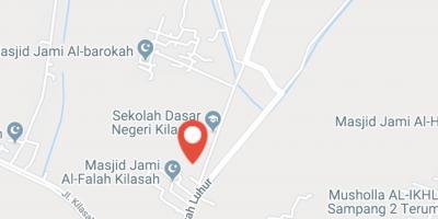 Tanah 10541 m² Rp 600 ribu/m², Jl Sawah Luhur KILASAH - SERANG untuk rumah atau perumahan, Dpt dibeli  sebagian 08128138238