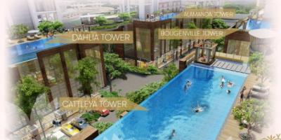 Apartemen Jakarta - Sakura Garden City lahan sewa bandara Halim Perdana Kusuma