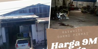 Dijual Cepat Gudang Jl. Banyu Urip Lokasi Strategis