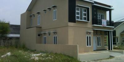 jual rumah murah kondisi rumah baru di pekanbaru