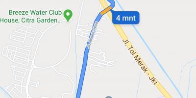 Tanah 1307 m² Rp 980 juta, Kawasan Industri Jl Bojonegara SERANG 08128138238