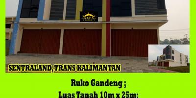 Ruko Sentraland, Trans Kalimantan, Pontianak, Kalimantan Barat
